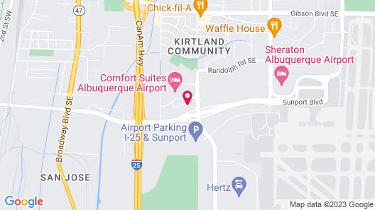Homewood Suites by Hilton Albuquerque Airport Map