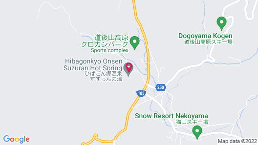 Hiba-dogoyama Kogenso Map