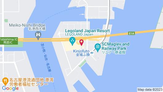 LEGOLAND Japan Hotel Map