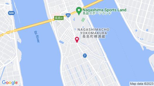 Family Lodge Hatagoya Wangan Nagashima Map
