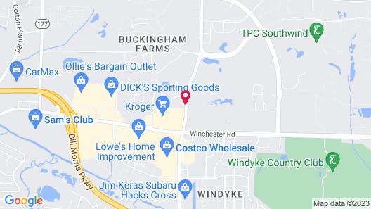 Homewood Suites Southwind - Hacks Cross Map