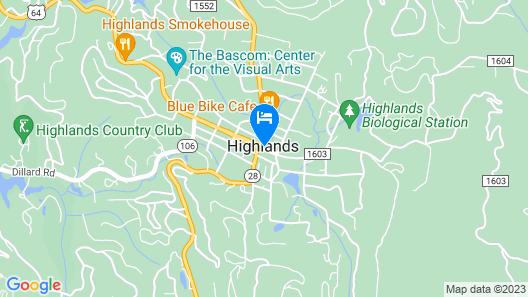 Highlands Inn Map