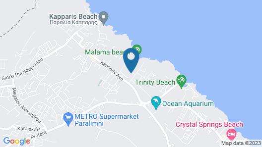 Malama Beach Holiday Village Map