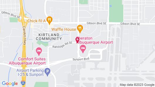 Hilton Garden Inn Albuquerque Airport Map