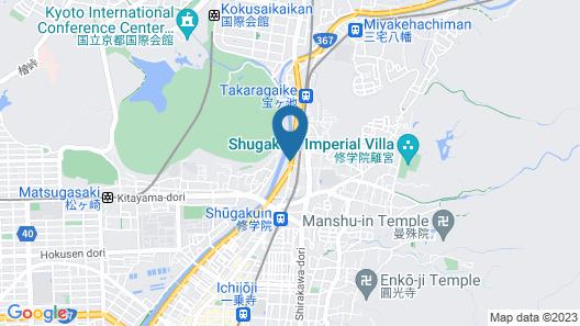 Heihachi Tea House Inn Map