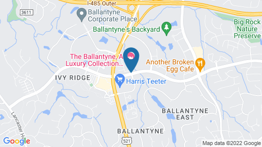 The Ballantyne, A Luxury Collection Hotel, Charlotte Map