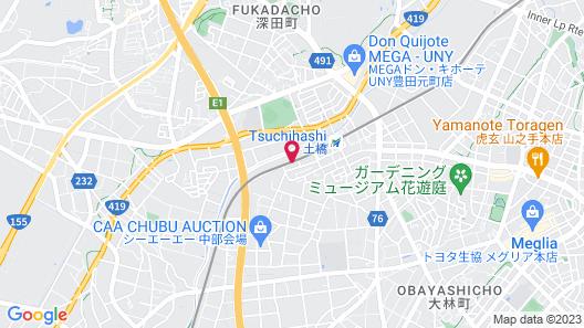 Business Hotel Kosanagi Map