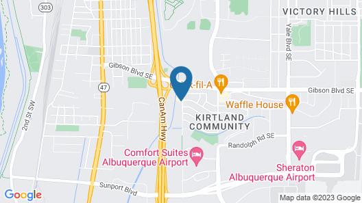 Baymont by Wyndham Albuquerque Airport Map