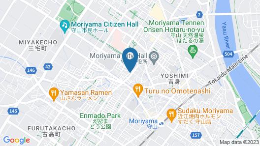 Vessel Inn Shiga Moriyama Ekimae Map