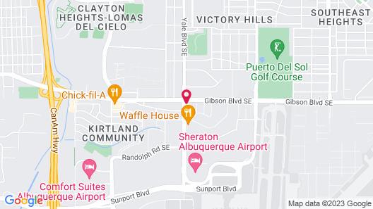 La Quinta Inn by Wyndham Albuquerque Airport Map