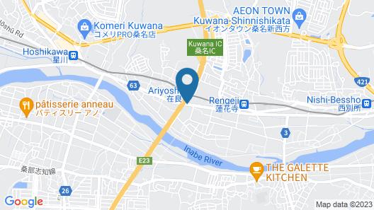 Bussiness Hotel BL Kuwana Map