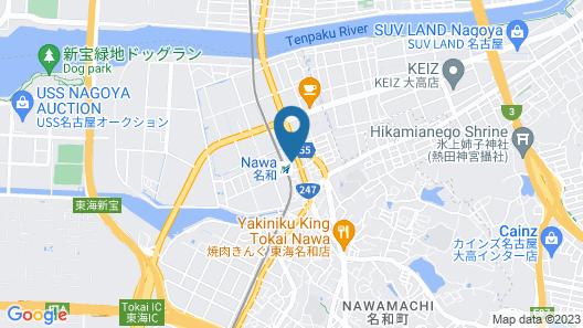 Nawa Plaza Hotel Map