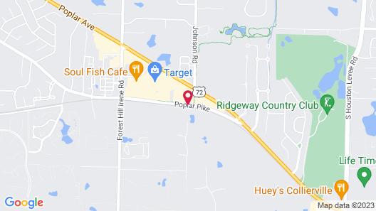 Fairfield Inn & Suites By Marriott Memphis Germantown Map