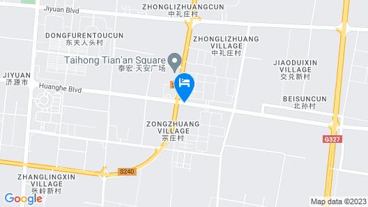 Howard Johnson Hotel Map
