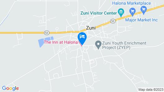 Inn at Halona Map