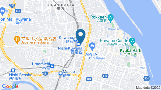 SANCO INN KUWANA EKIMAE Map