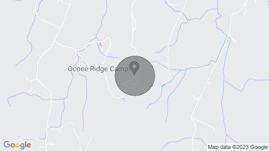 Bunkhouse Room Located in Ocoee Ridge Map