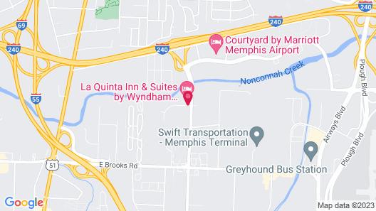 Comfort Inn Airport Map