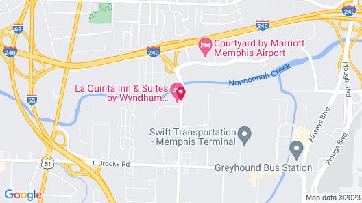 La Quinta Inn & Suites by Wyndham Memphis Airport Graceland Map
