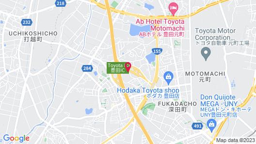 Royal Hotel Uohachi Map