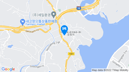 Sacheon BEE Self Check-in Motel Map