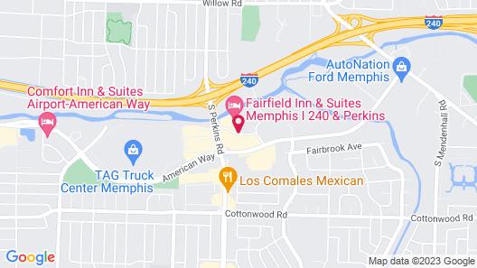 Fairfield Inn & Suites Memphis I-240 & Perkins Map