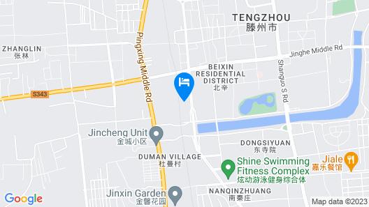 Super 8 Hotel Tengzhou Railway Station Map