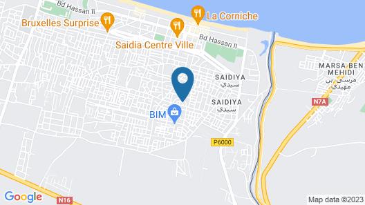 Appartement Neuf au Centre de Saidia Map
