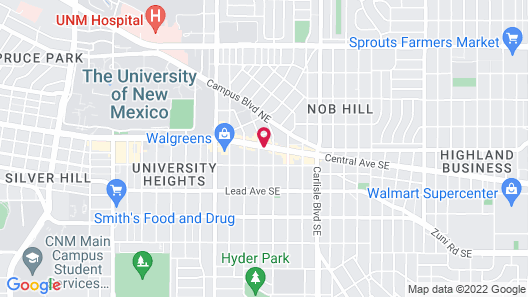 Hiway House Motel Map