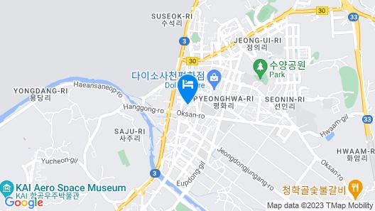 Sacheon Diamond Map