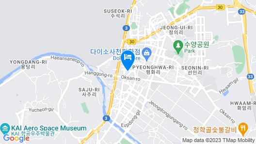 Sacheon M Map