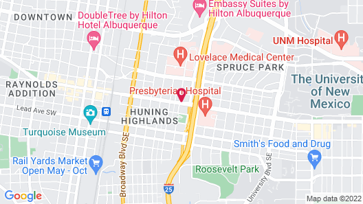 Econo Lodge Downtown Map