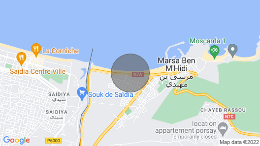 Dar Milouda Msrida House Map
