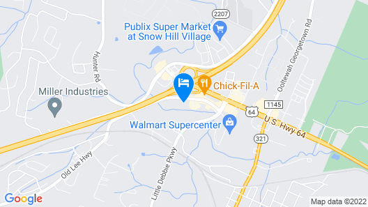 SpringHill Suites by Marriott Chattanooga North/Ooltewah Map
