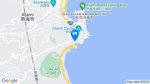 THE HIRAMATSU HOTELS & RESORTS ATAMI Map