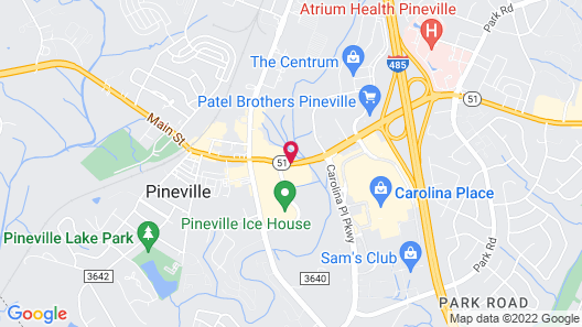 Quality Suites Pineville - Charlotte Map