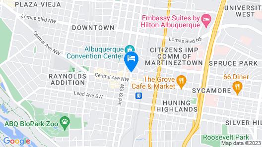 Hotel Andaluz Albuquerque, Curio Collection by Hilton Map