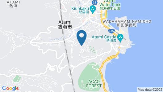 Suite Villa Panora Atami Sakurazawa Map