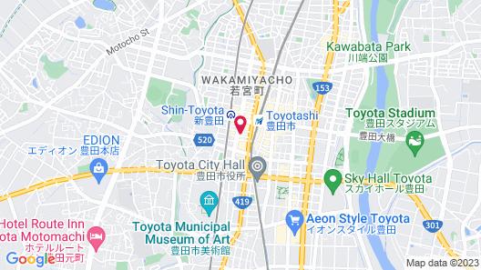 Toyoko Inn Toyota-shi Ekimae Map