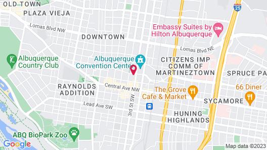 Hyatt Regency Albuquerque Map