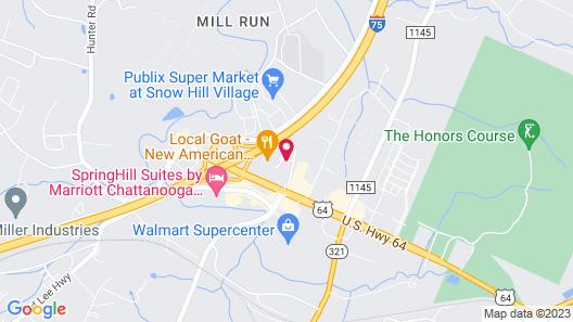 Hampton Inn Chattanooga - North/Ooltewah Map