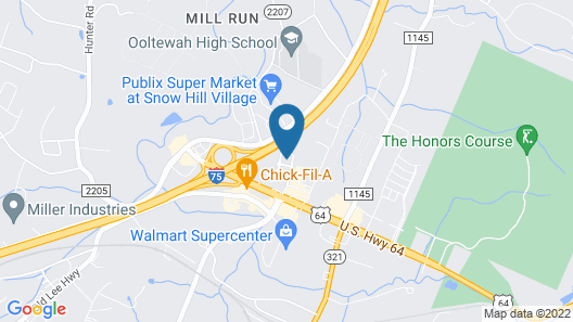 Holiday Inn Express Hotel Ooltewah Springs-Chattanooga, an IHG Hotel Map