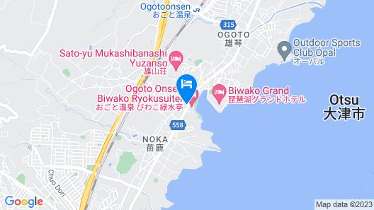 Biwako Ryokusuitei Map