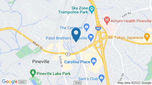 Best Western Plus Pineville-Charlotte South Map