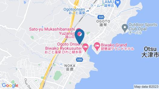 Biwako Hanakaido Map