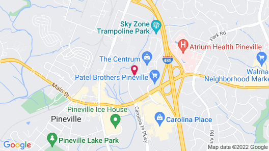 Four Points by Sheraton Charlotte - Pineville Map