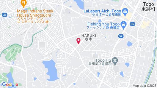 The Manga Hotel Togo Map