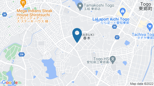 The Manga Hotel Togo Map