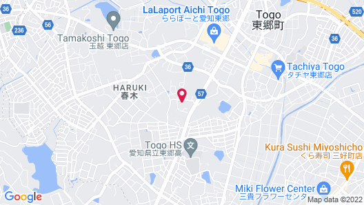 Hotel Valentine Togo - Adults Only Map