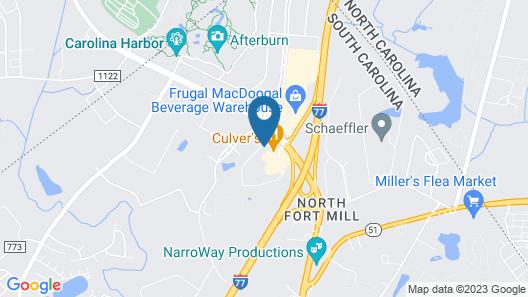 Motel 6 Fort Mill, SC - Charlotte Map